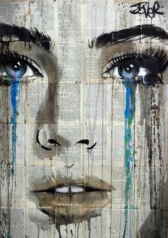 "tauchner: "" Loui Jover - Blue Flame "" Amazing Art"