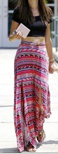 Maxi Skirt....minus belt