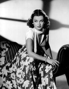 TRADE WINDS (1938), the film for which Joan Bennett went from blonde to brunette...and never went back.