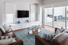 completed homes gallery hamptons Living Room Built Ins, Ikea Living Room, Living Room Windows, Living Room Tv, Home And Living, Ikea Bedroom, Living Area, Hamptons Living Room, The Hamptons