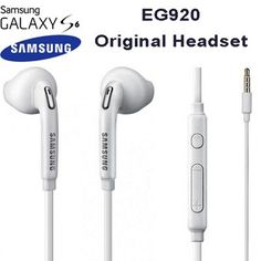 From 3.69:Samsung Eo-eg920bw 3.5 Mm Jack In Ear Handsfree Stereo Headphones With Remote And Microphone - White