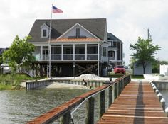 BOOKED UP Urbanna (up and south of the r river) Vacation Rental - VRBO 34081 - 4 BR Chesapeake Bay House in VA, Waterfront!! Sail the Rappahannock River & the Chesapeake Bay