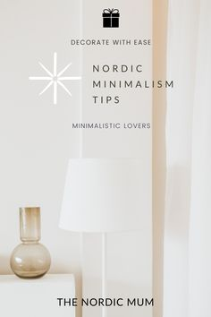 How to use the minimalistic approach at your space that you live in. Think about blush colors, cushions, white space and how to make it feel cozy like the Nordics do. Minimalistic but chic decor. #minimalismdecor #Scandinavianstyle #nordicdecor #diynordicdecor #scandidecorideas Nordic Living, Scandinavian Living, Scandinavian Design, Minimal Decor, Slow Living, White Space, Nordic Style, Business For Kids, Simple Living
