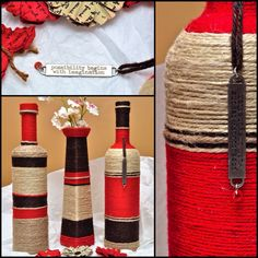 Red and Brown Set