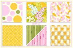 Custom Mini Crib / Crib / Toddler Bedding - Garden Flowers