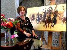 Bev Doolittle - Beyond Negotiations - www.world-wide-art.com - YouTube Native Art, Native American Art, American Artists, Bev Doolittle Prints, Hidden Art, Value In Art, Reading Art, Virtual Art, Artwork Images
