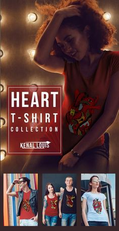 The Most Creative Heart T-Shirts Design You'll Love As Gift Ideas Heart Artwork, Creative Birthday Gifts, Cool Graphic Tees, Human Heart, Heart Shirt, Best Blogs, Queen, Artwork Prints, Art Blog
