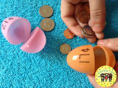 Looking for a fun way to use those leftover Easter eggs? Make a Money matching activity. Will go great with my Money Clip Cards! https://www.teacherspayteachers.com/Product/Money-Count-Clip-Cards-Common-Core-Aligned-910239