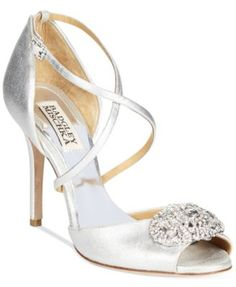 Badgley Mischka Sari II Evening Sandals