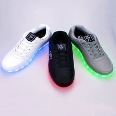 Light Up LED Shoes - Bolt