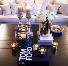 Relaxed Hair Health: Decor Inspo || Coffee Table Ambiance