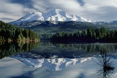 Mt. Shasta - frequent childhood vacation area - hiking, skiing, and a crystal cave