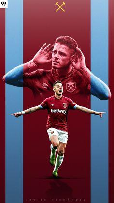 Javier Hernandez | West Ham United @ch14_ x @westham Javier Hernandez, Ultras Football, Sports Graphics, Football Wallpaper, West Ham, Pumas, Football Players, Premier League, Soccer