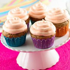 Can you believe these beautiful cupcakes are made with low sodium black beans? Yes! And they're delicious!   Black Bean Cupcakes with Guava Frosting http://www.goya.com/english/recipes/recipe.html?recipeID=1=cupcakes=1 <- Recipe