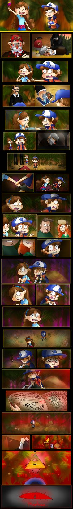 Trust no one, Pinetree... by HezuNeutral.deviantart.com on @DeviantArt