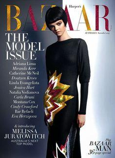 Harper's Bazaar Magazine [Australia] (November 2013) Melissa Juratowitch