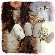 Xmas Nails, Holiday Nails, Christmas Nails, Gem Nails, Nail Manicure, Hair And Nails, Fancy Nails, Love Nails, Gorgeous Nails