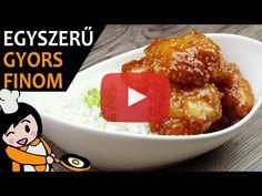 Egyszerű mézes szezámmagos csirkemell recept elkészítése videóval. A mézes szezámmagos csirkemell elkészítését, részletes menetét leírás is segíti. Meat Recipes, Make It Yourself, Chicken, Cooking, Food, Youtube, New Recipes, Chef Recipes, Fast Recipes