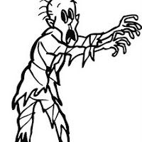 Zombie Coloring Pages For Kids