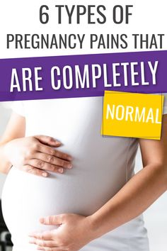You might be getting a few of these types of pregnancy pain already and not even realise it. If you are a new mom then you definitely need to check this out! #pregnancy #pregnancytips Trimesters Of Pregnancy, Pregnancy Tips, All About Pregnancy, Getting Pregnant, New Moms, How To Get, Shit Happens, Type, Check