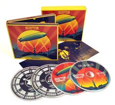 Led Zeppelin Celebration Day Deluxe Edition