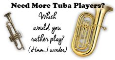 If you need to recruit more tuba players for your band program, this is article gives you 5 practical tips to help! Music Teachers, Music Classroom, Music Education, Teaching Orchestra, Piano Teaching, Music Lesson Plans, Music Lessons, Band Problems, Play That Funky Music