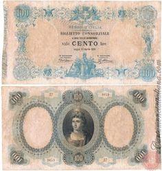100 LIRE - 1874