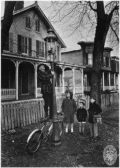 Lamplighter ca. 1947-1957 • A. Aubrey Bodine ,  Maryland Historical Society B516