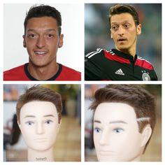 Mesut Ozil 2014 World Cup Haircut Tutorial