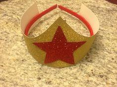 Wonder Woman crown / hat by HeadbandsForPrincess on Etsy, $4.99