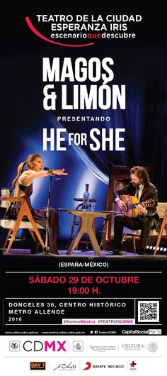Magos Herrera y Javier Limón en conjunto con Sony Music México y la ONU Mujeres presentan en vivo en la Ciudad de México este CD+DVD que fue grabado con invitados de talla internacional como Fito Páez, Eugenia León, Grégoire Maret, Cahubuco, Orán Etkin, Sachal Vasandani y Rogério Boccato.