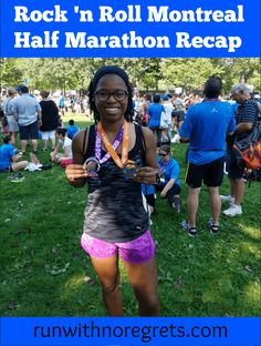 Check out my recap of the Rock 'n Roll Montreal Half Marathon! It was my first time running in Canada and I definitely had a memorable experience. Find more race recaps at runwithnoregrets.com!