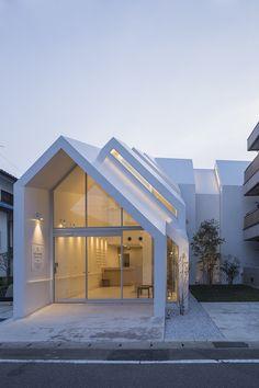 Asahicho Clinic by hkl studio, Japan