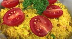 Veganer Mais-Möhren Aufstrich - Rezept von Joes Cucina Verde Baked Potato, Potatoes, Baking, Vegetables, Ethnic Recipes, Food, Tomatoes, Cooking, Turmeric