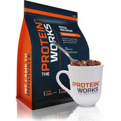Protein Mug Cake Mix from THE PROTEIN WORKS™ is a delicious, gooey dessert mix that you can whip up in seconds. Another cracking innovation from the team at TPW™ Towers, this indulgent pudding is high in protein and fibre, but contains less than 2g of fat per serving. Protein Mug Cake Mix is formulated with natural flavours and a premium protein blend to deliver an excellent nutrient profile. No cooking skills required, just follow our simple directions. We even give you endless ways to pimp…