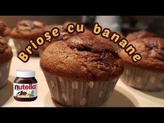 Brioșe cu banane și Nutella | Raluca Gheorghe - YouTube