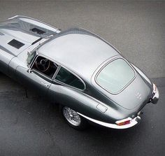 Jaguar E-Type. Just thinking recently this was the first car I fell in love with. Exterior design unequaled.