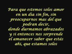 ▶ Escapémonos - Marc Anthony & Jennifer López (Con letra) - YouTube