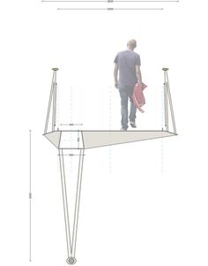 DISSING+WEITLING architecture Steel Bridge, Desk, Architecture, Concept, Furniture, Home Decor, Arquitetura, Desktop, Decoration Home