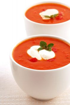 Roasted Tomato Soup Recipe - Easy Soup Recipes