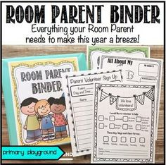Everything your Room Parent needs to make this year a breeze!