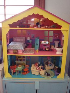 Doll house - love the shaping at the top