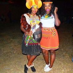 ❤ Zulu Traditional Attire Designs ❤ ⋆ fashiong4 Zulu Traditional Attire, Zulu Wedding, Zulu Women, Captain Hat, Women Wear, Hot, How To Wear, Dresses, Design
