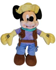 The Mickey Mouse Club: Talent Round-Up Day Mickey Mouse Plush Toy -- 17'' H