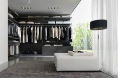 Walk in closet modernos
