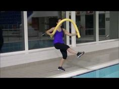 Aqua Aerobics Noodle 1 - YouTube