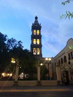 Perfil de la Catedral de Monterrey