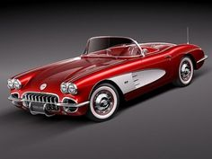Another classic beauty: 1958 Chevrolet Corvette 283