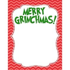 The Grinch Handprint Christmas Card With Printable ❤ liked on Polyvore featuring home, home decor and stationery