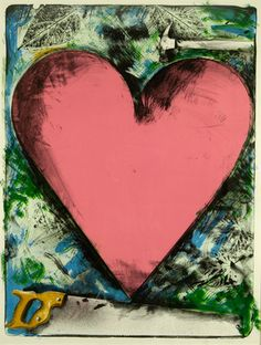 Jim Dine, Heart at the Opera, 1983